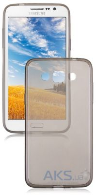 Чехол Original TPU Ultra Thin Samsung J100 Galaxy J1 Transparent Grey