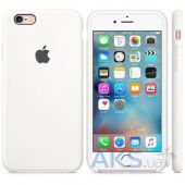 Вид 3 - Чехол Apple Silicone Case for iPhone 6S White (MKY12)