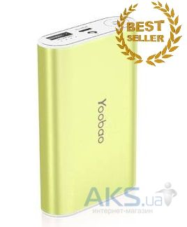 Внешний аккумулятор power bank Yoobao Master Power Bank YB-M3 7800mAh Green