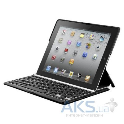 Чехол для планшета Leather case with Bluetooth Keyboard for Apple iPad Black