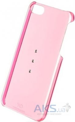 Чехол White Diamonds Trinity Pink Apple iPhone 5С (1220TRI41)