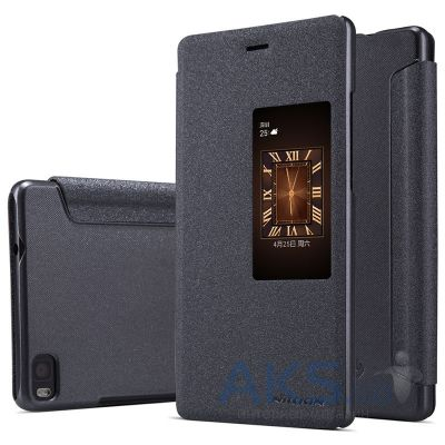 Чехол Nillkin Sparkle Leather Series Huawei Ascend P8 Black