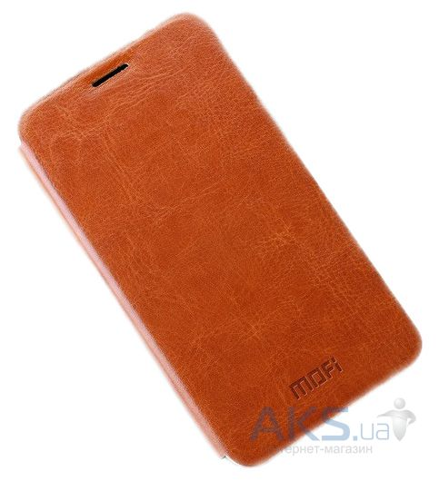 Чехол Mofi Leather Series Meizu M2, M2 Mini Brown