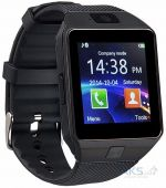 Умные часы UWatch Smart DZ09 Black with Black strap