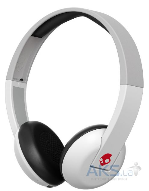 Наушники (гарнитура) Skullcandy UPROAR White/Grey/Red (S5URHT-457)