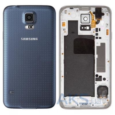 Корпус Samsung SM-G900F Galaxy S5 Dark Blue