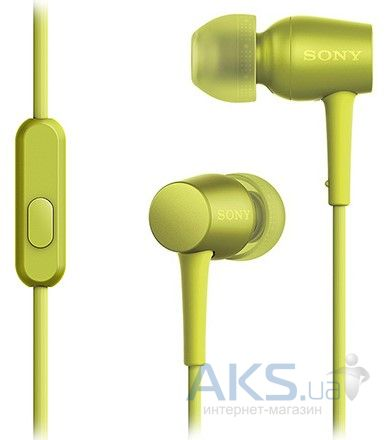 Наушники (гарнитура) Sony MDR-EX750AP/Y Lime Yellow (MDREX750APY.E)