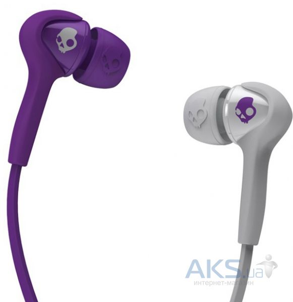 Наушники (гарнитура) Skullcandy Smokin Bud 2 Athletic Purple/Grey (S2SBDY-210)