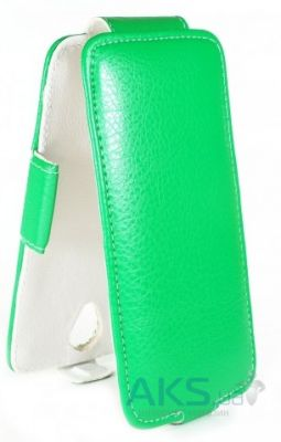 Чехол Sirius Flip case for Lenovo A606 Green