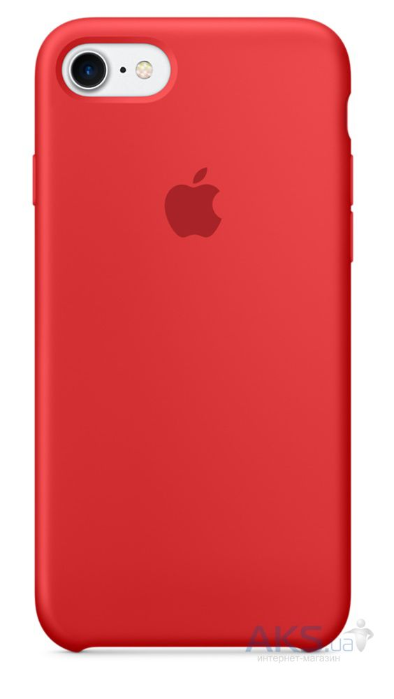 Чехол Apple Silicone Case iPhone 5, iPhone 5S, iPhone SE Red_HC
