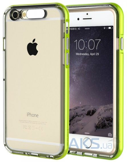 Чехол Rock TPU Tube Series Apple iPhone 6, iPhone 6S Green