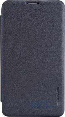 Чехол Nillkin Sparkle Leather Series Nokia Lumia 530 Black