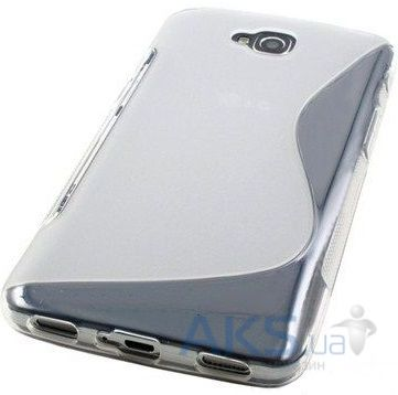Чехол Original TPU Duotone LG Optimus G Pro Lite D686 Transparent