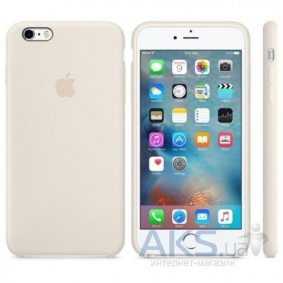 Чехол Apple Silicone Case for iPhone 6S Plus Antique White (MLD22)
