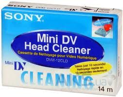 MiniDV кассета Sony Head Cleaner