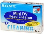MiniDV кассеты Sony Head Cleaner