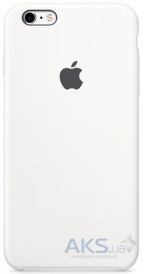 Чехол Apple Silicone Case for iPhone 6S White (MKY12)