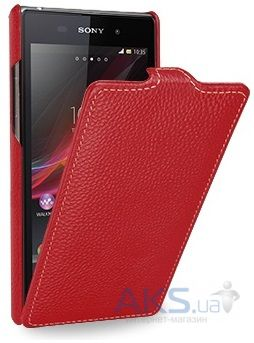 Чехол TETDED Leather Flip Series Sony Xperia Z1 C6902 Red