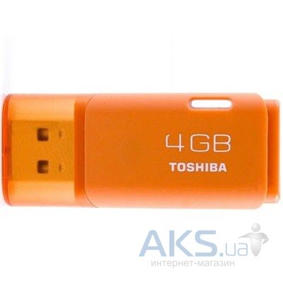 Флешка Toshiba 4Gb HAYABUSA Orange