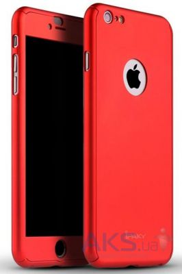 Чехол iPaky 360 PC Whole Round Apple iPhone 6 Plus, iPhone 6S Plus Red