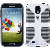 Чехол Speck for Samsung I9500 Galaxy S4 CandyShell Grip White/Black (SPK-A2060)