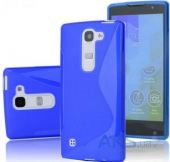 Чехол Original TPU Duotone LG Optimus Y70 Spirit H422 Blue