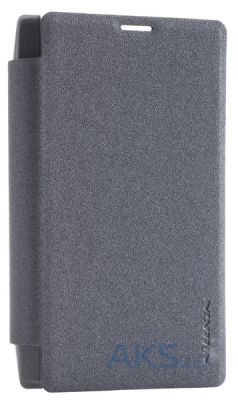 Чехол Nillkin Sparkle Leather Series Microsoft Lumia 435 Black