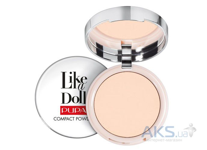 Пудра Pupa Like A Doll Compact Powder №01 - Porcelain