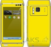 Сенсор (тачскрин) для Nokia N8-00 with frame Original Yellow