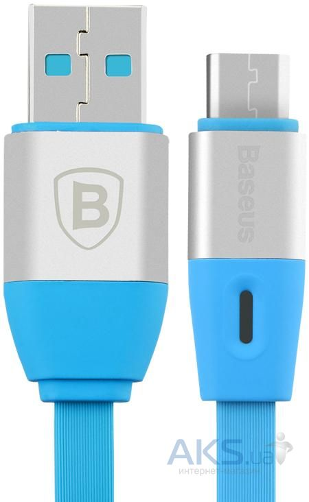Кабель USB Baseus Si Chi times flash series Type-C cable Blue