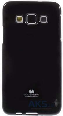 Чехол Mercury Jelly Color Series Samsung A700H Galaxy A7 Black