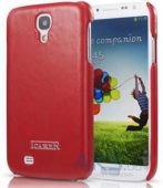 Чехол iCarer Oil Wax Back Cover Samsung i9500 Galaxy S4 Red (RS950005RE)