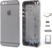 Корпус Apple iPhone 5S в стиле iPhone 6 Exclusive Space Gray