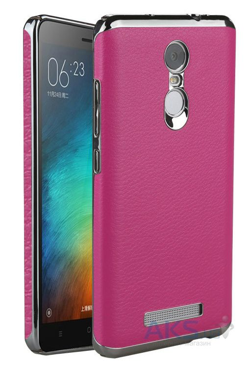 Чехол Slenky Buisness Leather Series Xiaomi Redmi Note 3, Redmi Note 3 Pro Pink