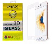 Защитное стекло IMAX 3D Silicone Full Frame Glass Apple iPhone 7, iPhone 8 White