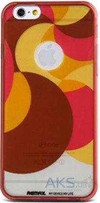 Чехол Remax Engarved Series Apple iPhone 6, iPhone 6S Red