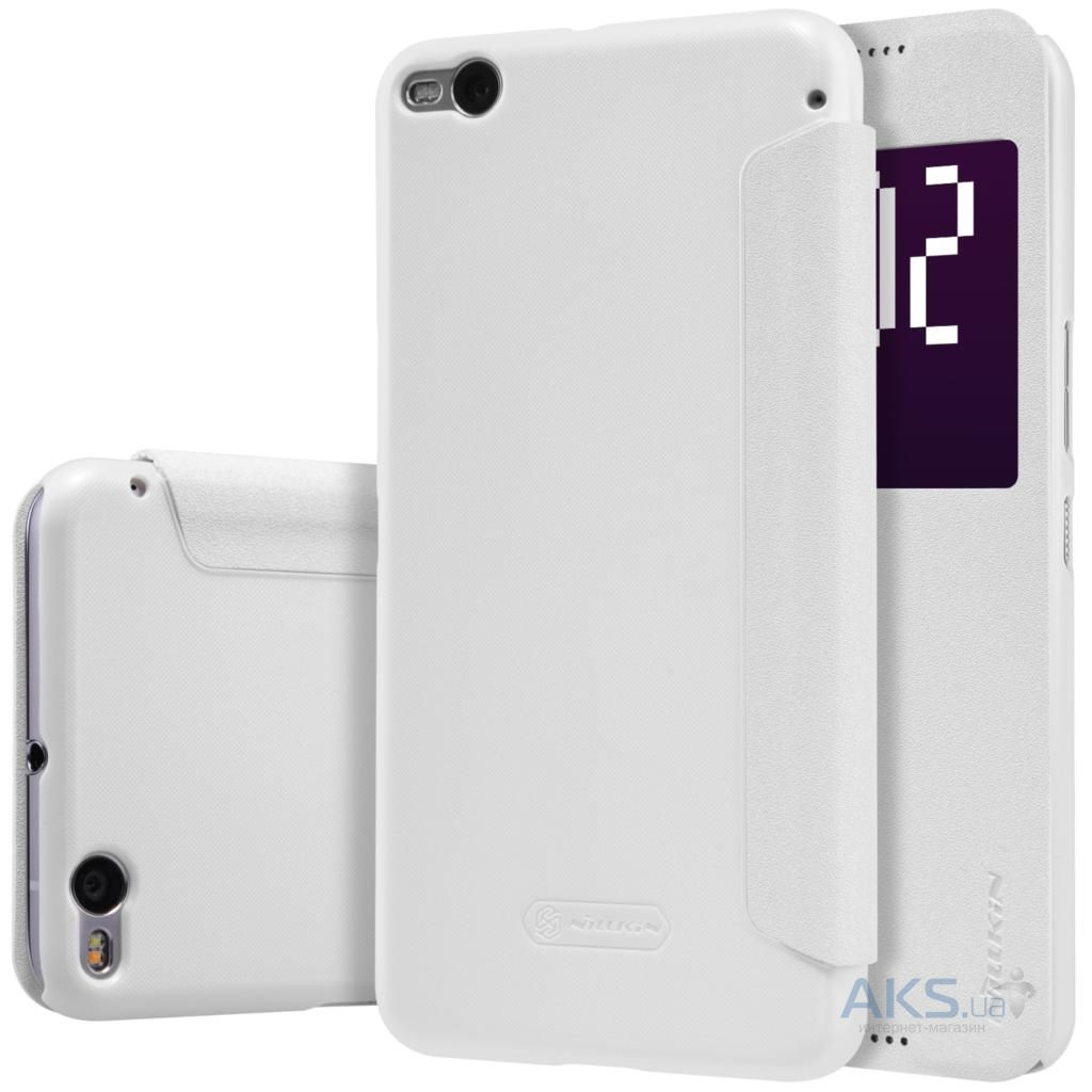 Чехол Nillkin Sparkle Leather Series HTC One X9 White