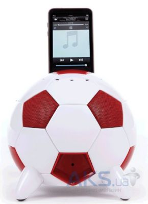 Колонки акустические Speakal miSoccer (2.1 Stereo iPod Docking Station with 5 Speakers) Red (MISOCCER-RED)