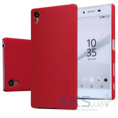 Чехол Nillkin Super Frosted Shield Sony Xperia Z5 E6683 Red