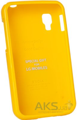 Чехол VOIA Jelly Case for LG Optimus L4 II Yellow