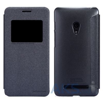 Чехол Nillkin Sparkle series сase for Asus Zenfone 6 Black