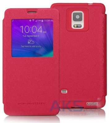 Чехол Mercury Wow Bumper Series Samsung N910 Galaxy Note 4 Crimson