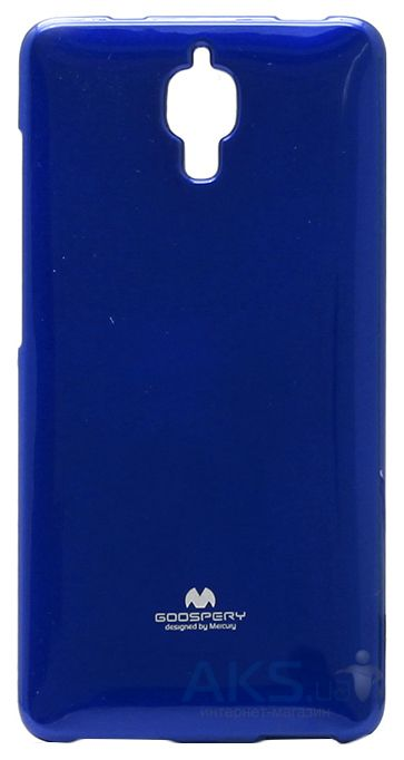 Чехол Mercury Jelly Color Series Xiaomi Mi4 Blue