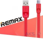 Вид 2 - Кабель USB Remax Full Speed Cable micro USB Red (RC-001m)