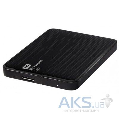 "Жесткий диск внешний Western Digital 2.5"" 1TB My Passport Ultra (WDBZFP0010BBK-EESN) Black"