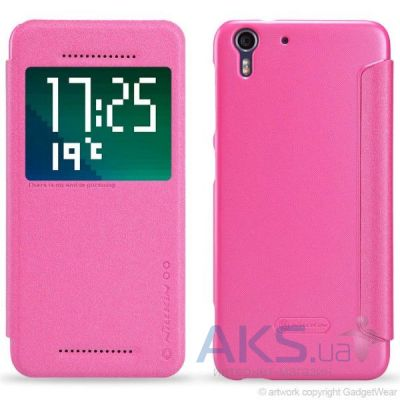 Чехол Nillkin Sparkle Leather Series HTC Desire Eye Pink