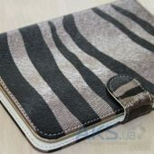 Обложка (чехол) Saxon Case для PocketBook Basic 611/613 Zebra Mole