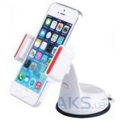 Вид 2 - Держатель Baseus Super Car Mount for iPhone 6/6+ White / Red (SUGENT-UP02)