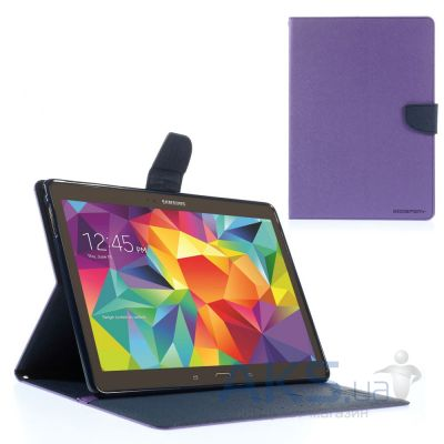 Чехол для планшета Mercury Fancy Diary Series Samsung Galaxy Tab 4 10.1 Violet Blue