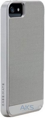 Чехол Case-Mate Premium Carbon Fibre Apple iPhone 5, iPhone 5S, iPhone SE Silver (CM026460)